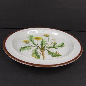 Vintage Dining - Dandelion 206 Japan Brown Speckle Stoneware Plate